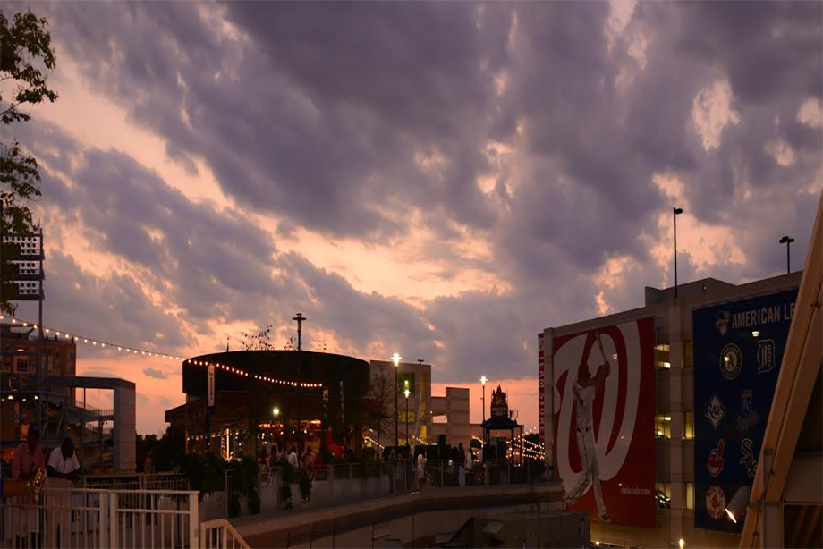 View of Summer Breeze at Nationals Stadium